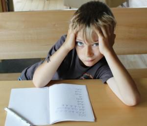 Hausaufgabenterror bei LRS