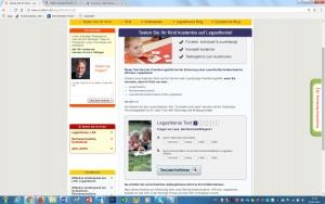 Legasthenie-Test