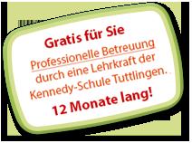 Professionelle Beratung Gratis - 12 Monate lang!