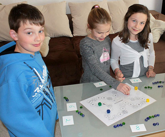 Rechenschwäche Spiel: Zahlenärger