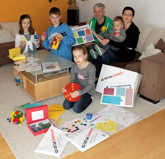 ES-IST-SO-EINFACH:  Rechenschwäche mit der Familie spielend überwinden